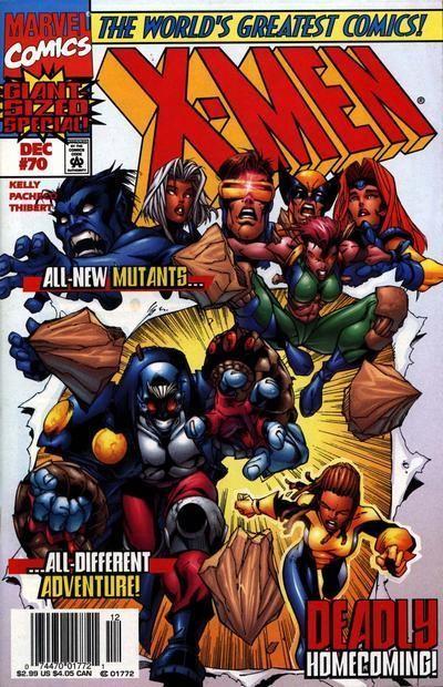 Xmen 70 cover